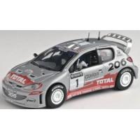 PEUGEOT 206 WRC GreatBritain02 #1, Burns