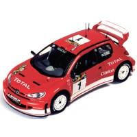 PEUEGOT 206 WRC Rally Argentina'03 #1, winner Grönholm