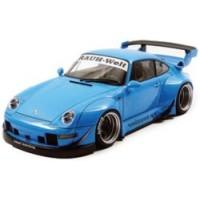 PORSCHE RWB 993, blue