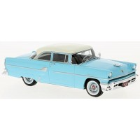 MERCURY Custom 2-door Sedan, 1955, l.blue/white