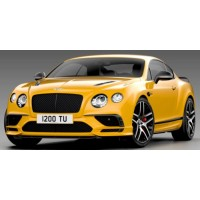 BENTLEY Continental Supersports, 2017, magnetic yellow