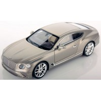 BENTLEY New Continental GT, extreme silver