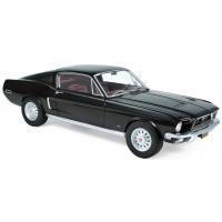 FORD Mustang Fastback, 1968, black