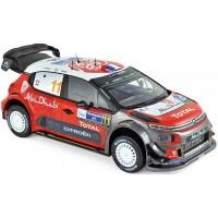 CITROËN C3 WRC Rally Mexico'18 #11, S.Loeb / D.Elena