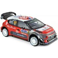 CITROËN C3 WRC Rally TourDeCorse'18 #11, S.Loeb / D.Elena