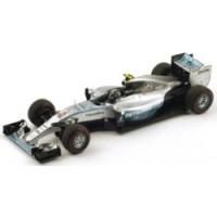 MERCEDES W06 Hybrid GP Monaco'15 #6, winner N.Rosberg