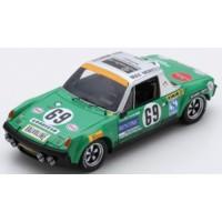 PORSCHE 914/6 GT 24h LeMans'71 #69, G.Quist /  D.Krumm