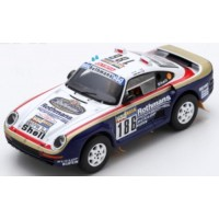 PORSCHE 959 Rally ParisDakar'86 #186, winner R.Metge / D.Lemoine