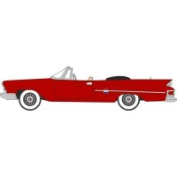 CHRYSLER 300 Convertible open, 1961, red