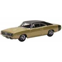 DODGE Charger, 1968, gold/black