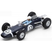 BRABHAM BT7 GP Monaco'65 #12, 7th J.Bonnier