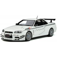 NISSAN Skyline GT-R (R34) Mine'S, 2011, pearl white (limited 2000)