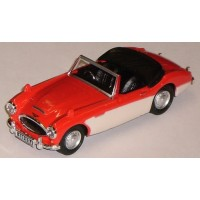 AUSTIN Healey open top, red/ivory