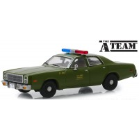 PLYMOUTH Fury US Army Police