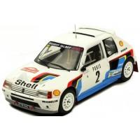 PEUGEOT 205 GTI T16 Rally MonteCarlo'85 #2, A.Vatanen / T.Harryman