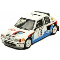PEUGEOT 205 GTI T16 Rally MonteCarlo'85 #6, Salonen / Harjanen