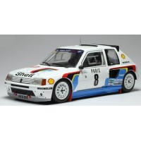 PEUGEOT 205 GTI T16 Rally MonteCarlo'85 #8, B.Saby / JF.Fauchille