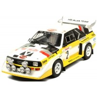 AUDI Quattro Sport S1 Rally MonteCarlo'86 #2, W.Röhrl / C.Geistdörfer