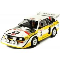 AUDI Quattro Sport S1 Rally MonteCarlo'86 #6, Mikkola / Hertz