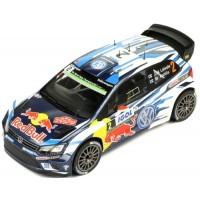 VOLKSWAGEN Polo R WRC Rally TourDeCorse'16 #2, JM.Latvala / M.Anttila
