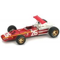 FERRARI 312 F1 GP France'68 #26, winner J.Ickx