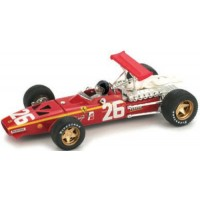 FERRARI 312 F1 GP France'68 #26, winner J.Ickx (including driver)
