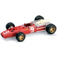 FERRARI 312 F1 GP Netherlands'68 #9, 6th C.Amon