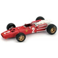 FERRARI 312 F1 GP Italy'67 #2, 7th C.Amon