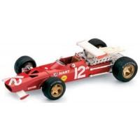 FERRARI 312 F1 GP Mexico'69 #12, 7th P.Rodriguez