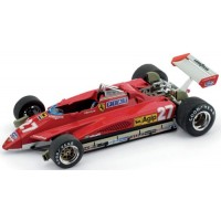 FERRARI 126C2 GP SanMarino'82 #27, 2nd G.Villeneuve