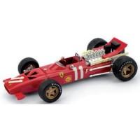 FERRARI 312 F1 GP Monaco'69 #11, C.Amon