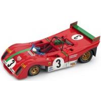 FERRARI 312 PB TargaFlorio'72 #3, winner A.Merzario / S.Munari