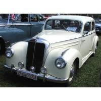 MERCEDES-BENZ 220 (W187) Limousine, 1953, white