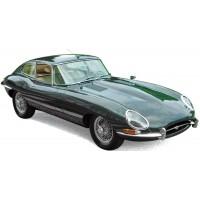 JAGUAR E type Coupé, 1962, green