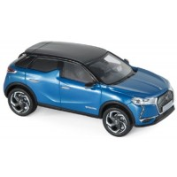 DS 3 Crossback, 2019, blue/black roof