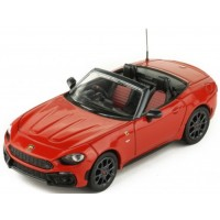 FIAT Abarth 124 Spider Turismo, red