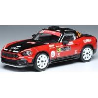 FIAT Abarth 124 RGT Rally MonteCarlo'17 #23, N.Ciamin / T.DeLaHaye