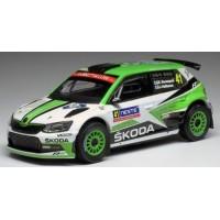 SKODA Fabia RS Rally Finland'18 #41, Rovanpera / Halttunen