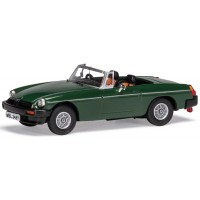 MG B Roadster V8, Don Hayter's car, brooklands green
