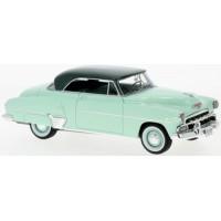 CHEVROLET Styleline 2-door Hardtop Coupé, 1952, l.green/d.green