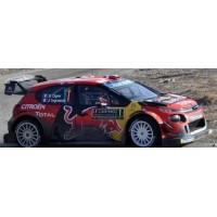 CITROËN C3 WRC Rally MonteCarlo'19 #1, winner Ogier / Ingrassia