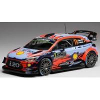 HYUNDAI i20 ERC Rally MonteCarlo'19 #11, 2nd Neuville / Gilsoul