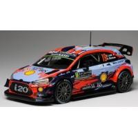 HYUNDAI i20 ERC Rally MonteCarlo'19 #19, 5th Loeb / Elena