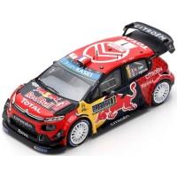 CITROËN C3 WRC Rally MonteCarlo'19 #1, winner S.Ogier / J.Ingrassia (100th Victory of Citroën in WRC)