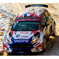 FORD Fiesta R5 Rally MonteCarlo'19 #26, A.Fourmaux / R.Jamoul