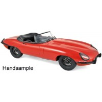 JAGUAR E type Cabriolet, 1962, red
