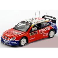 CITROËN Xsara WRC Rally Cyprus'04 #3, winner Loeb