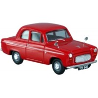 FORD 100E Popular, 1953, red