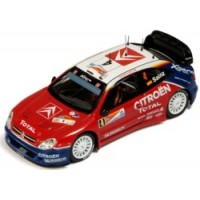 CITROËN Xsara WRC Rally Argentina'04 #4, winner Sainz / Marti