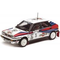 LANCIA Delta HF Integrale 8V Rally Olympus'88 #1, winner Biasion